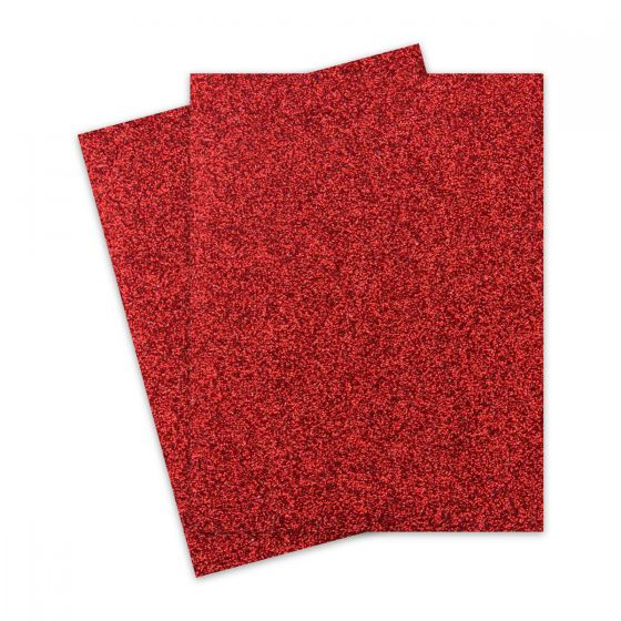 Glitter Red (3) Paper Offered by PaperPapers