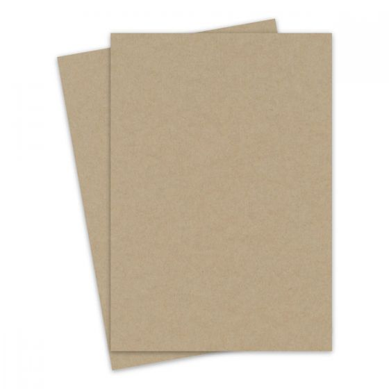 Light Rustic Kraft - 8.5X14 Legal Size Cardstock Paper - 111lb Cover (300gsm) - 100 PK