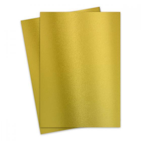 FAV Shimmer Premium Gold - 8.5 x 14 Legal Size Card Stock Paper - 92lb Cover (250gsm) - 150 PK