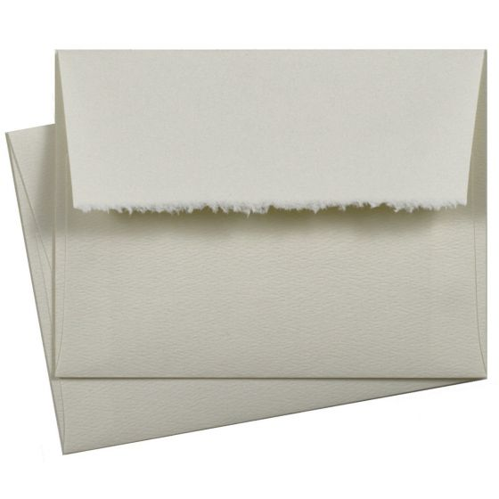 A2 Deckled Edge Natural Envelopes