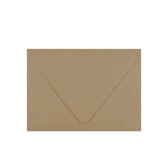 Cocoa Light Rustic Kraft (4) Envelopes From PaperPapers