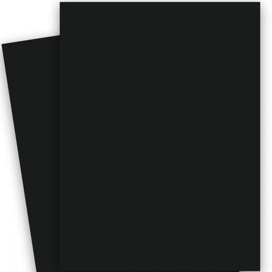 POPTONE Black Licorice (Basic Black) - 26X40 (100C/270gsm) Card Stock Paper