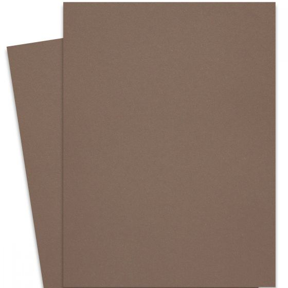 Curious Metallic - Chestnut 27-x-39 Full Size Cardstock Paper 300 GSM (111lb Cover)