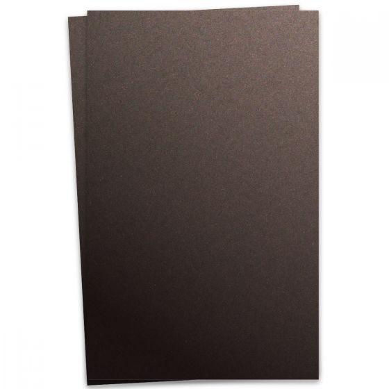 Curious Metallic - CHOCOLATE 12X18 Card Stock Paper 111lb Cover - 100 PK