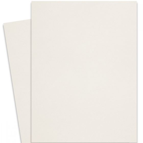 Curious Metallic - CRYOGEN WHITE 27X39 Full Size Card Stock Paper 89lb Cover - 125 PK