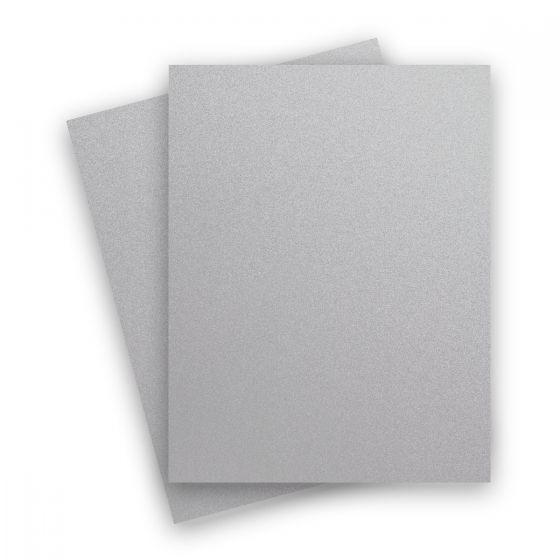 Curious Metallic - GALVANISED 8.5X11 Letter Size Card Stock Paper 92lb Cover - 25 PK