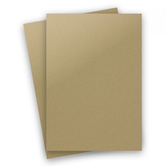 Curious Metallic - GOLD LEAF 8.5X14 Legal Size Card Stock Paper 92lb Cover - 150 PK