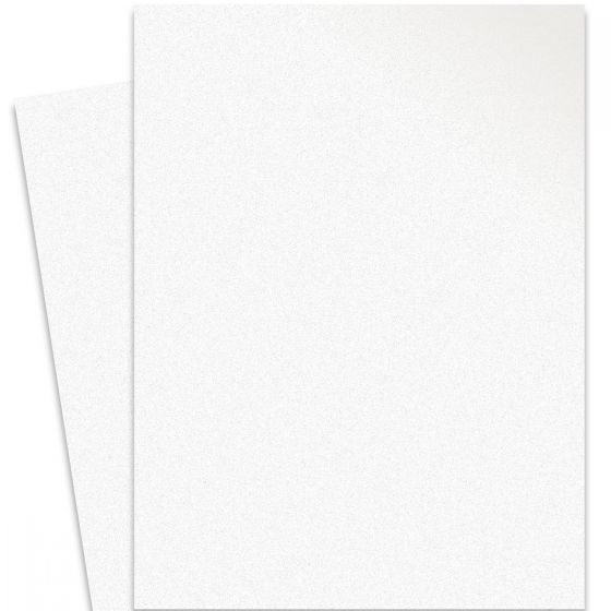 Curious Metallic - ICE SILVER 27X39 Full Size Card Stock Paper 111lb Cover