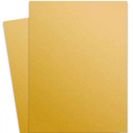 Curious Metallic - SUPER GOLD 27X39 Full Size Card Stock Paper 111lb Cover - 100 PK