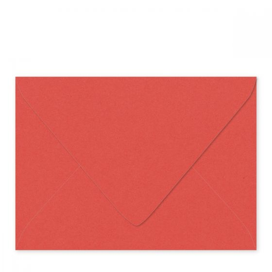 Extract - CORAL A7 (5-1/4-x-7-1/4) Euro Flap Envelopes 130 GSM (36/88lb Text) - 800 PK
