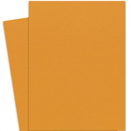 Extract - MUSTARD (28.3-x-40.2) Full Size Cardstock Paper 380 GSM (140lb Cover) - 75 PK