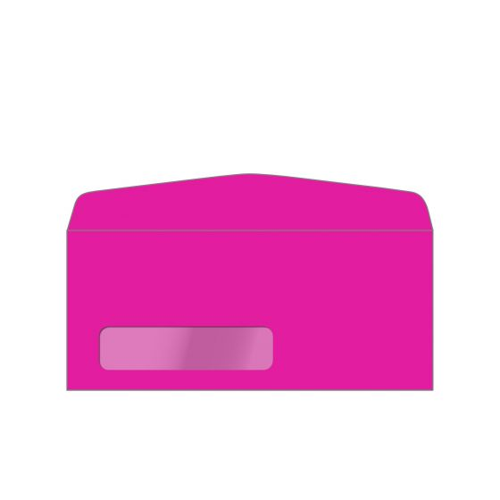 Neenah Fireball Fuchsia (1) Envelopes  Purchase from PaperPapers
