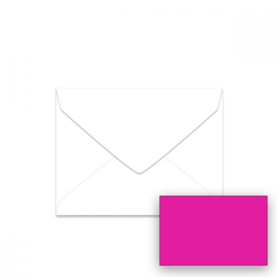 Neenah Fireball Fuchsia (1) Envelopes  Find at PaperPapers
