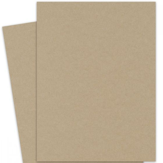 Light Rustic Kraft Full Size Paper (27.5X39.3 / 700X1000mm)  81lb Text (120gsm) - 250 PK