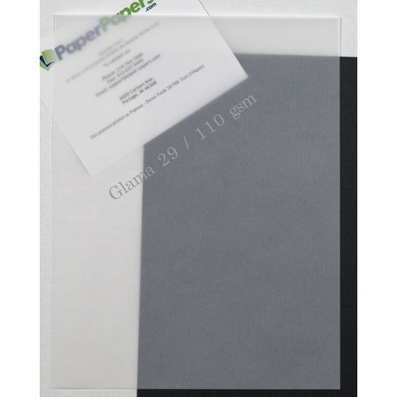 Glama White Translucent (2) Paper Shop with PaperPapers