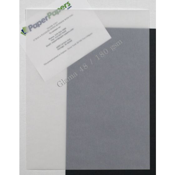 Glama White Translucent (2) Paper Order at PaperPapers