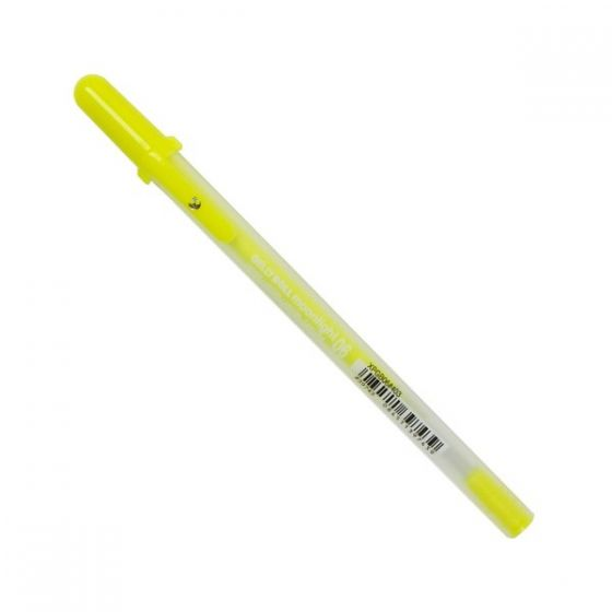 [Clearance] Gelly Roll Pens - MOONLIGHT 06 FINE FLUORESCENT YELLOW