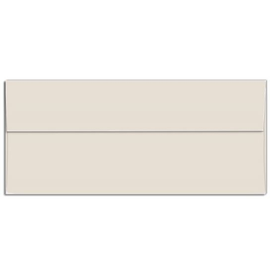 Cougar Opaque - Business Envelopes - Square Flap - NATURAL (28/70) - NO. 10 Envelopes - 50 PK