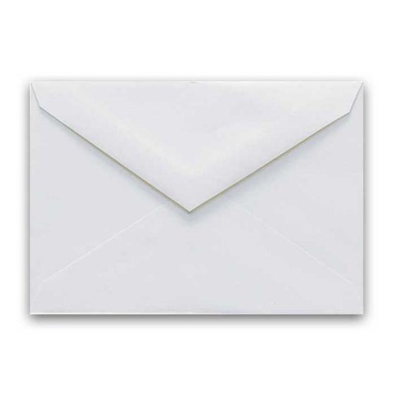 Cougar Opaque - OUTER Envelopes (5.5 x 7.75) - WHITE - (Outer/Gummed) - 25 PK
