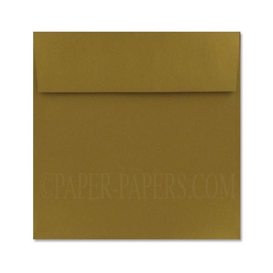 Stardream Metallic - 7.5 in Square ENVELOPES - ANTIQUE GOLD - 25 PK