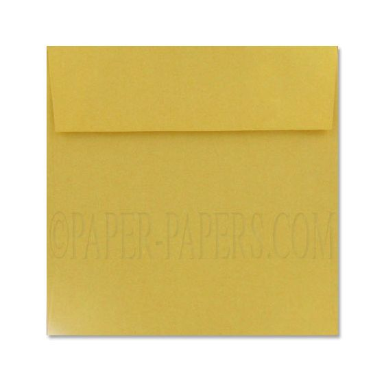 Stardream Metallic - 7.5 in Square ENVELOPES - GOLD - 25 PK