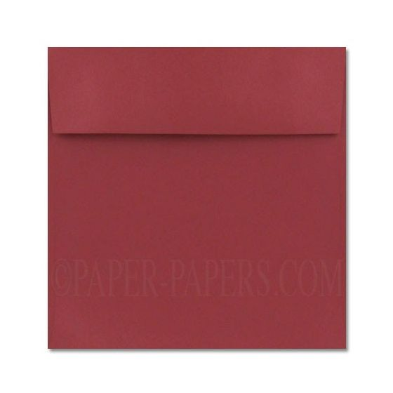 Stardream Metallic - 7.5 in Square ENVELOPES - MARS - 25 PK