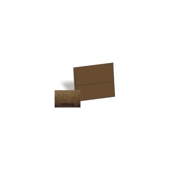 [Clearance] Stardream Metallic - A1 Envelopes (3.625-x-5.125) - BRONZE - 25 PK