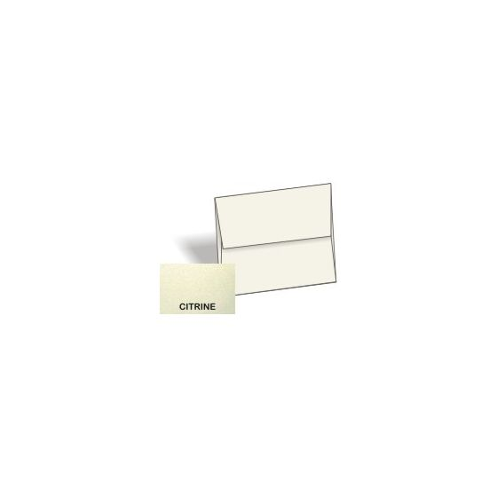 [Clearance] Stardream Metallic - A1 Envelopes (3.625-x-5.125) - CITRINE - 25 PK