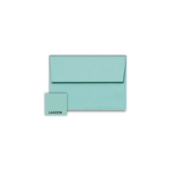 [Clearance] Stardream Metallic - A6 Envelopes (4.75-x-6.5) - LAGOON - 50 PK