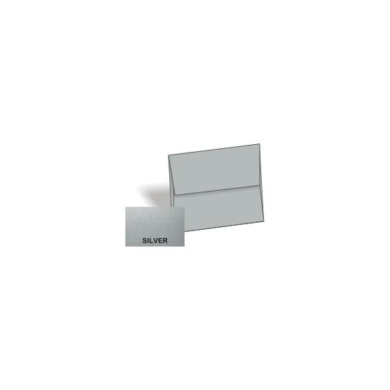 Stardream Metallic - A2 Envelopes (4.375-x-5.75) - SILVER - 50 PK