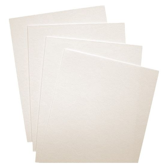 Wild - 8.5X11 Card Stock Paper - WHITE - 314lb Cover (850gsm) - 100 PK