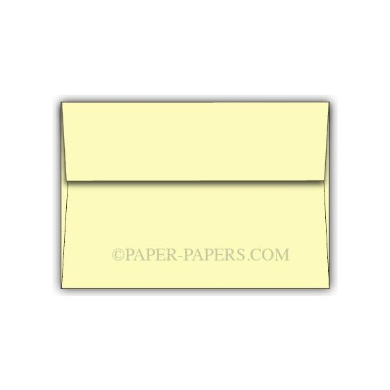 BASIS COLORS - A7 Envelopes - Light Yellow - 250 PK