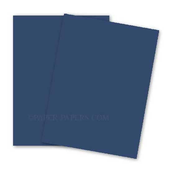 BASIS COLORS - 8.5 x 14 CARDSTOCK PAPER - Blue - 80LB COVER - 100 PK