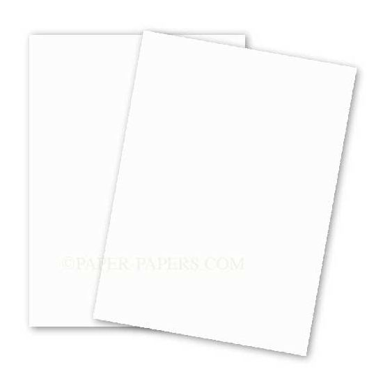 BASIS COLORS - 8.5 x 11 CARDSTOCK PAPER - Natural - 80LB COVER - 100 PK