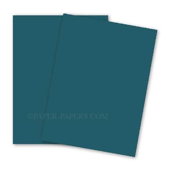BASIS COLORS - 23 x 35 PAPER - Teal - 28/70LB TEXT - 100 PK