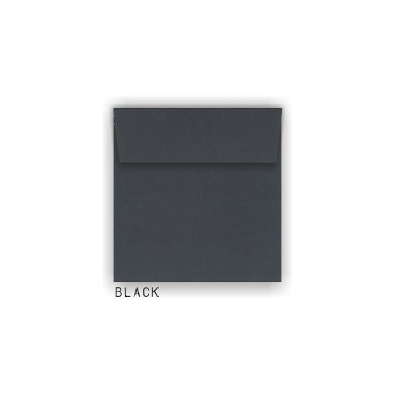 Leader Brand - Black 7.5 in. Square Envelopes - 25 PK