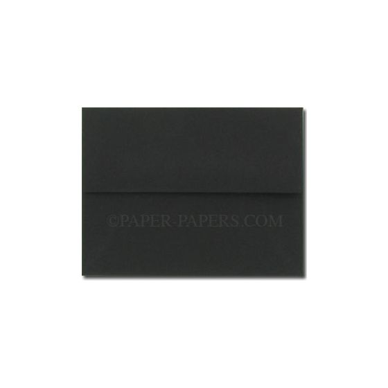 BASIS COLORS - A9 Envelopes - Black - 50 PK