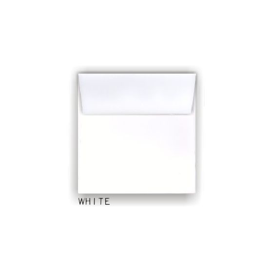 White 7.5 in. Square Envelopes - 25 PK