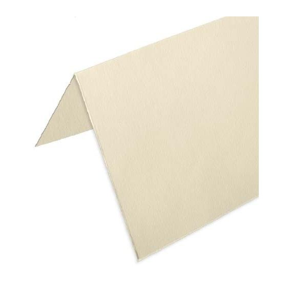 Arturo - Square FOLDED Cards 6-1/4 (260GSM) - SOFT WHITE - (6.25 x 12.5) - 100 PK