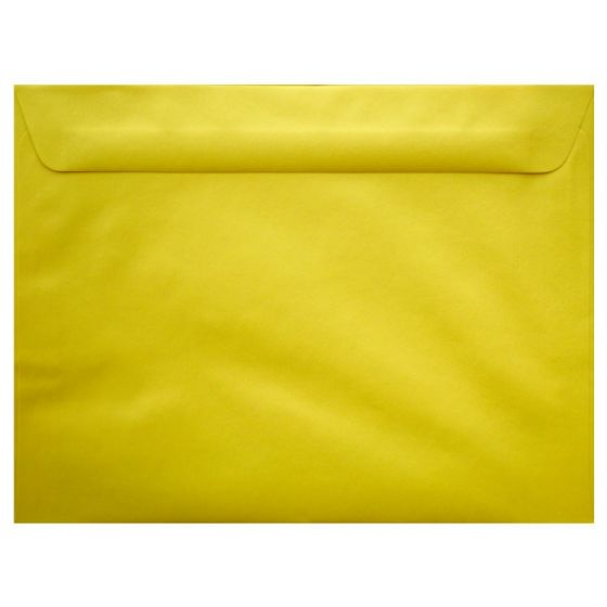 [Clearance] Mohawk BriteHue - SUN YELLOW - 9X12 Booklet Envelopes - 25 PK