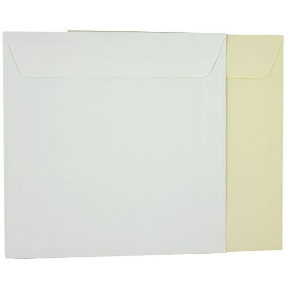 Basic White 9 inch Square Envelopes (9x9) - 25 PK