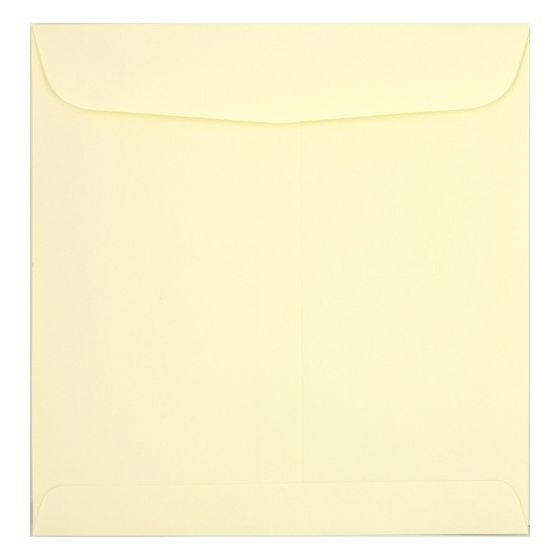 Basic Cream 9.5 inch Square Envelopes (9.5 x 9.5) - 25 PK