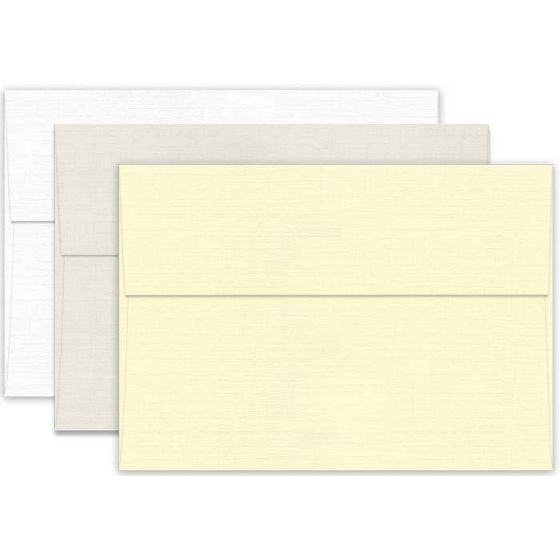 Classic Linen Classic Natural White (1) Envelopes Offered by PaperPapers