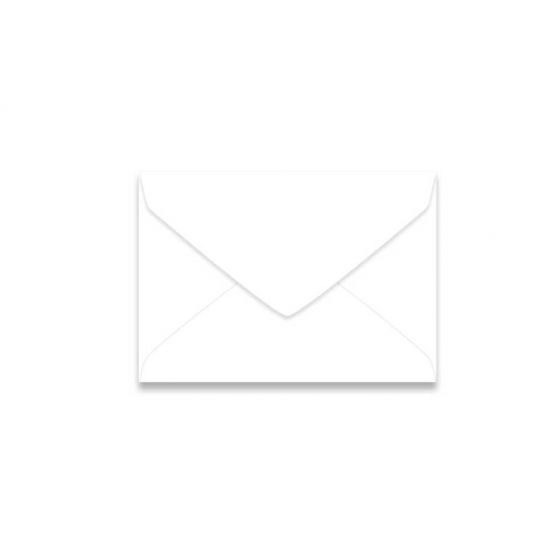 Neenah Classic CREST Solar White (70T/Smooth) - 4 Baronial Envelopes (3.625-x-5.125) - 2500 PK