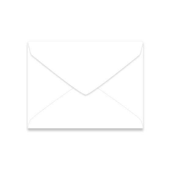 Neenah Classic CREST Solar White (70T/Smooth) - 6 Baronial Envelopes (4.75-x-6.5) - 2500 PK