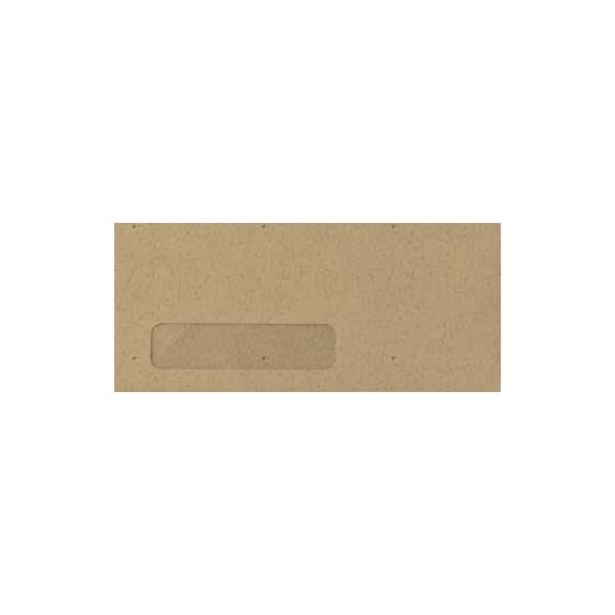 Neenah Environment DESERT STORM (80T/Smooth) - #10 Poly Window Envelopes (4.125 x 9.5) - 2500 PK