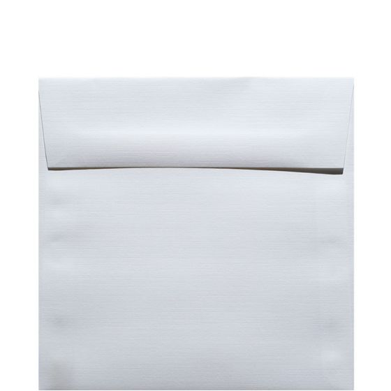 Classic Linen Solar White - 6 in (6X6) Square Envelopes (80T/Linen) - 1000 PK