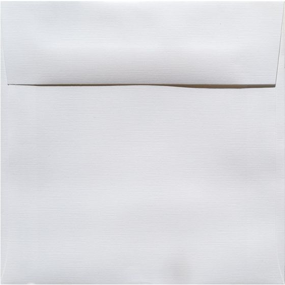 Classic Linen Solar White - 7.5 in (7.5X7.5) Square Envelopes (80T/Linen) - 1000 PK