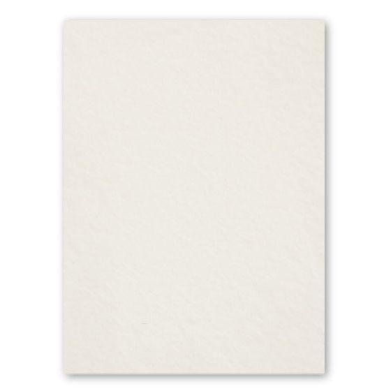 Cranes Crest (Kid) - 8.5 x 11 Card Stock Paper - ECRU - 100% Cotton - 134 Cover - 25 PK