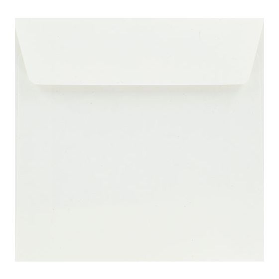 Crush White Corn - 6.6 in (17X17cm) Square Envelopes (81T/Peel-Stick Flap) - 25 PK